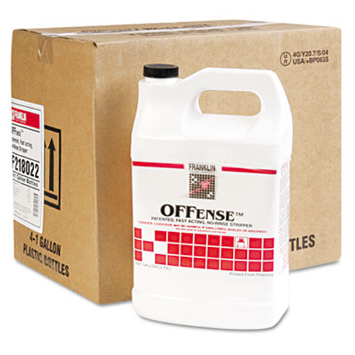 Franklin Cleaning Technology OFFense Floor Stripper  1gal Bottle  4 Carton (FRK F218022)