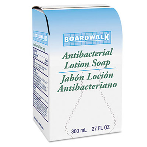 Boardwalk Antibacterial Soap, Floral Balsam, 800mL Box, 12/Carton (BWK 8200)