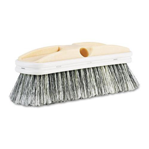 Boardwalk Polystyrene Vehicle Brush w Vinyl Bumper  2 1 2  Bristles  10  Brush (BWK 8410)