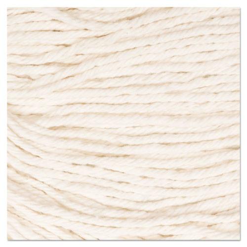 Boardwalk Super Loop Wet Mop Head  Cotton Synthetic Fiber  5  Headband  Large Size  White  12 Carton (UNS 503WH)