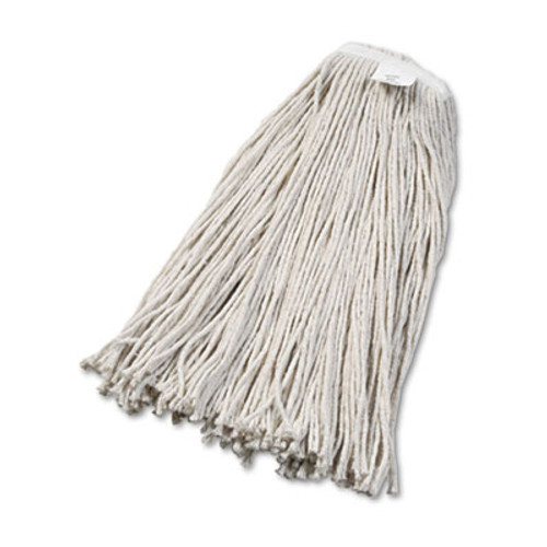 Boardwalk Cut-End Wet Mop Head  Cotton  No  32  White  12 Carton (UNS 2032C)