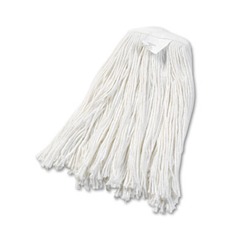Boardwalk Cut-End Wet Mop Head  Rayon  No  20  White  12 Carton (UNS 2020R)