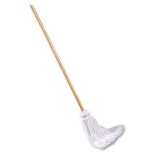 Boardwalk Deck Mop  48  Wooden Handle  16oz Cotton Fiber Head (UNS 116C)