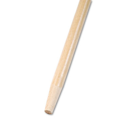 "Boardwalk Metal Tip Threaded Hardwood Broom Handle 1/"" Dia x 60/"" Long 136"