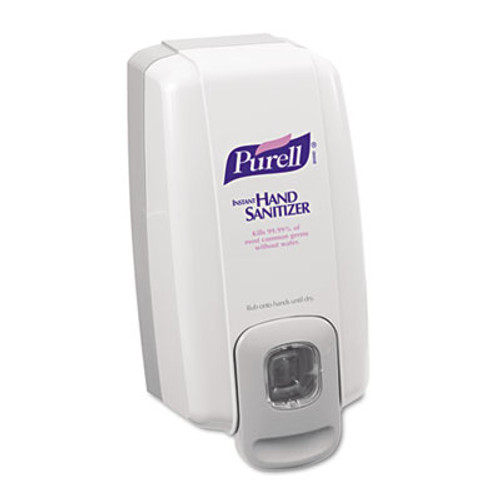 PURELL NXT SPACE SAVER Dispenser  1000 mL  5 13  x 4  x 10   White Gray (GOJ 2120-06)