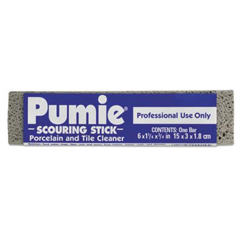 Pumie Scouring Stick  Pumie  Gray Pumice  5 3 4 x 3 4 x 11 4  12 per Box (PUM 12)