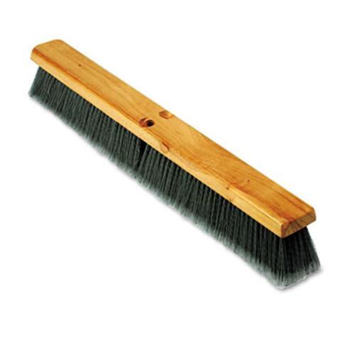 Boardwalk Floor Brush Head  3  Gray Flagged Polypropylene  24  (BWK 20424)