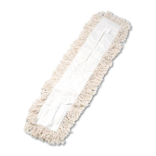 Boardwalk Industrial Dust Mop Head  Hygrade Cotton  36w x 5d  White (UNS 1336)