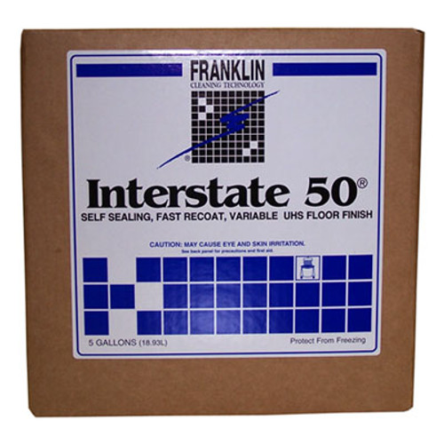 Franklin Cleaning Technology Interstate 50 Floor Finish  5gal Cube (FRK F195025)