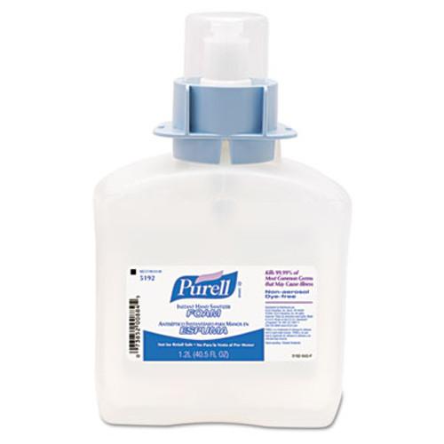 PURELL Advanced FMX-12 Foam Instant Hand Sanitizer Refill, w/Moisturizers, 1200mL (GOJ 5192-03)