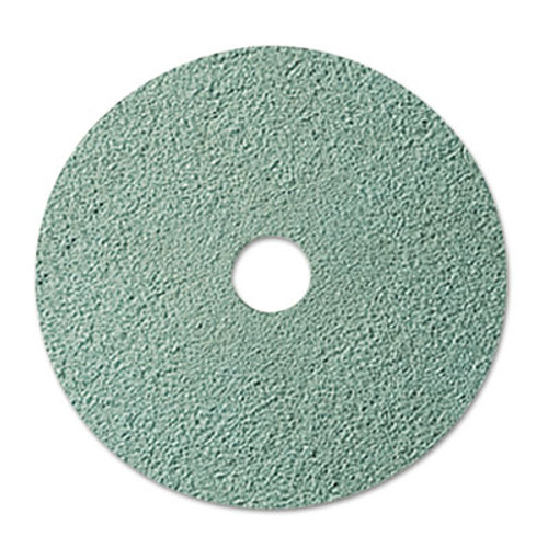 3M Burnish Floor Pad 3100  20  Diameter  Aqua  5 Carton (MCO 08753)