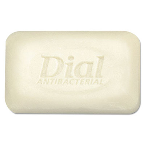 Dial Antibacterial Deodorant Bar Soap  Unwrapped  White  2 5oz  200 Carton (DIA 00098)
