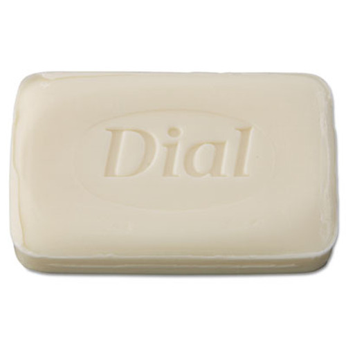 Dial Amenities Individually Wrapped Deodorant Bar Soap, White, 2.5oz Bar, 200/Carton (DIA 00197)