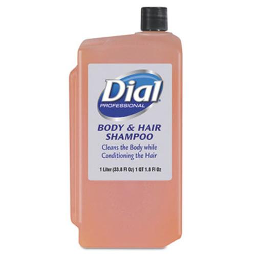 Dial Professional Body   Hair Care  Peach  1 L Refill Cartridge  8 Carton (DIA 04029)