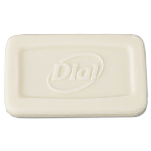 Dial Amenities Individually Wrapped Basics Bar Soap, 1.5oz Bar, 500/Carton (DIA 06010)