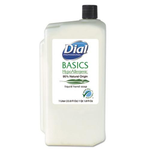Dial Professional Basics Liquid Hand Soap  Fresh Floral  1000mL Refill  8 Carton (DIA 06046)