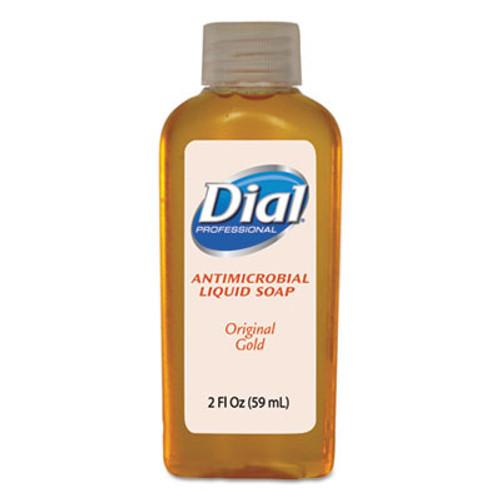 Dial Professional Gold Antimicrobial Liquid Hand Soap, Floral Fragrance, 2oz Bottle, 48/Carton (DIA 06059)