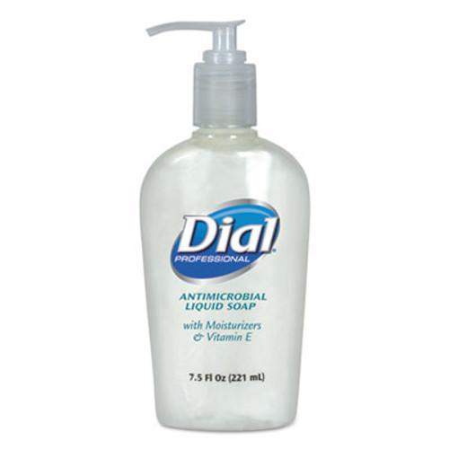 Dial Professional Antimicrobial Soap with Moisturizers, 7.5oz Décor Pump, 12/Carton (DIA 84024)