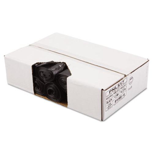 Penny Lane Linear Low Density Can Liners  45 gal  1 2 mil  40  x 46   Black  100 Carton (PNL 517)