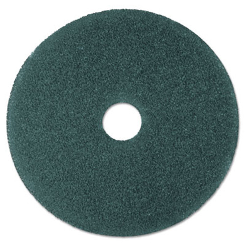 "3M Cleaner Floor Pad 5300, 19"", Blue, 5/Carton (MCO 08412)"
