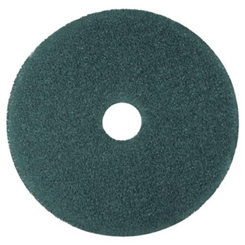 """3M Cleaner Floor Pad 5300, 13"""", Blue, 5/Carton (MCO 08406)"""