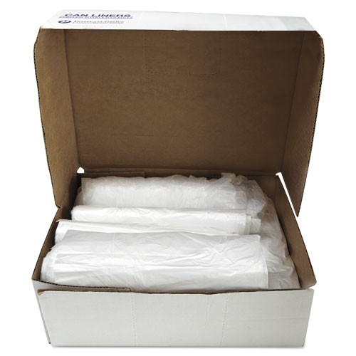 Inteplast Group High-Density Commercial Can Liners  60 gal  16 microns  43  x 48   Natural  200 Carton (IBS S434816N)