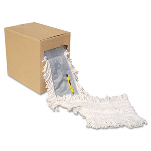 Boardwalk Flash Forty Disposable Dustmop  Cotton  5   Natural (UNS FF40)