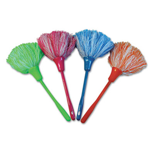 Boardwalk MicroFeather Mini Duster  Microfiber Feathers  11   Assorted Colors (UNS MINIDUSTER)