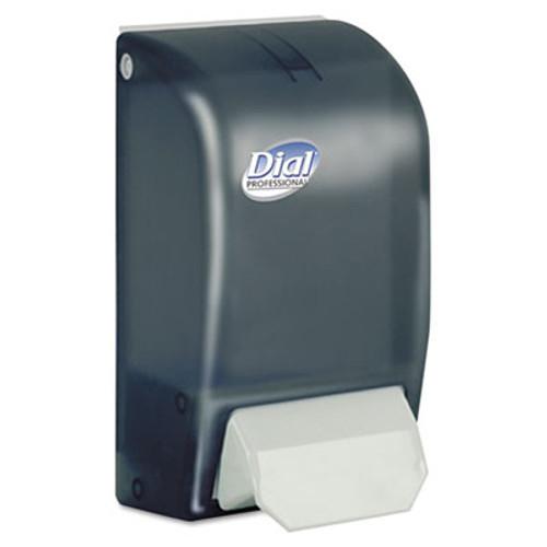 Dial Professional 1 Liter Manual Foaming Dispenser, 1000mL, 5 x 4 1/2 x 9, Smoke (DIA 06055)