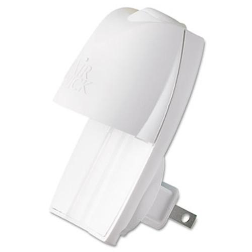 Air Wick Scented Oil Warmer  1 75  x 2 69  x 3 63   White Gray  6 Carton (REC 78046)