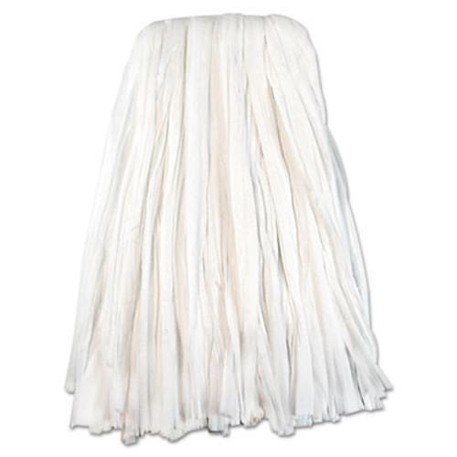 Boardwalk Nonwoven Cut End Edge Mop  Rayon Polyester   20  White  12 Carton (UNS BW2020)