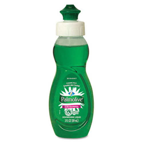 Palmolive Dishwashing Liquid  Original Scent  3oz Bottle  72 Carton (CPC 01417)