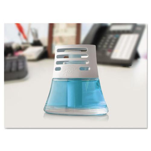 BRIGHT Air Scented Oil Air Freshener  Calm Waters and Spa  Blue  2 5 oz  6 Carton (BRI 900115)