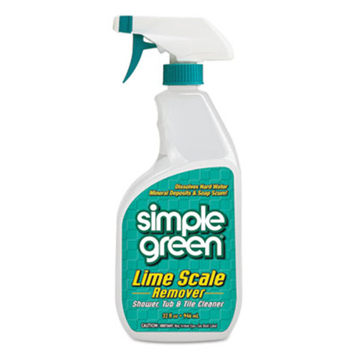 Simple Green Lime Scale Remover  Wintergreen  32 oz Bottle  12 Carton (SMP 50032)