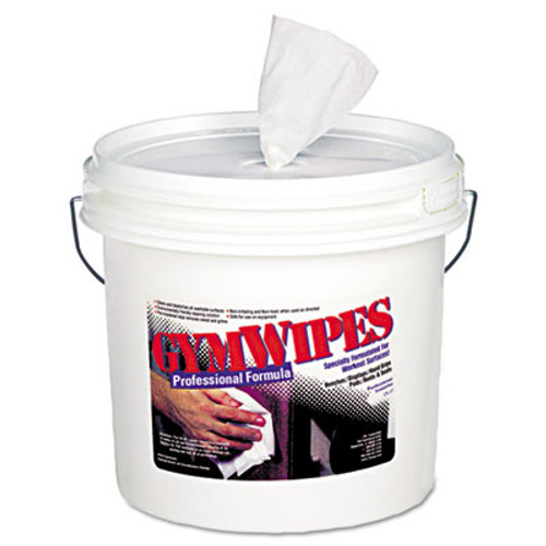 2XL Gym Wipes, 6 x 8, Unscented, 700/Bucket, 2 Buckets/Carton (TXL L37)
