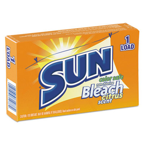 SUN Color Safe Powder Bleach  Vend Pack  1 load Box  100 Carton (VEN 2979697)