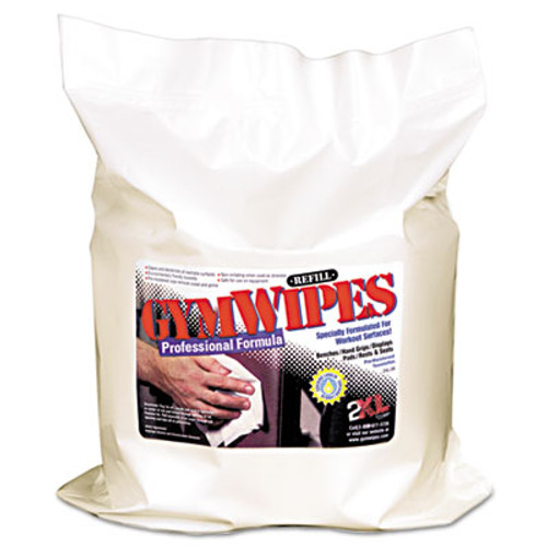 2XL Gym Wipes Professional  6 x 8  Unscented  700 Pack  4 Packs Carton (TXL L38)