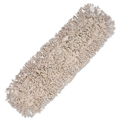 Boardwalk Mop Head  Dust  Cotton  24 x 3  White (UNS 1024)