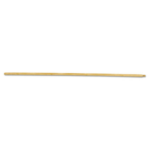 Boardwalk Threaded End Broom Handle, Lacquered Hardwood, 15/16 dia x 54, Natural (BWK 121)