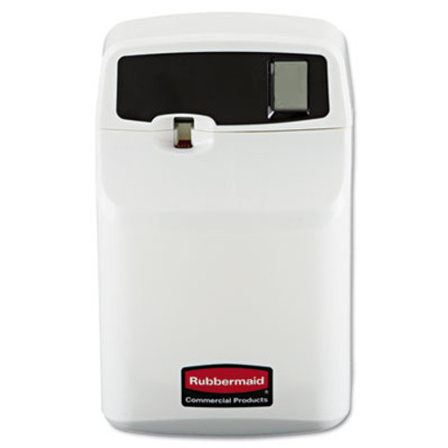 Rubbermaid Commercial SeBreeze Programmable Odor Neutralizer Dispenser, 4 3/4 x 3 1/8 x 7 1/2, White (RCP 5169)