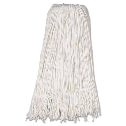 Boardwalk Mop Head, Premium Standard Head, Rayon Fiber, 32oz, White, 12/Carton (UNS 232R)