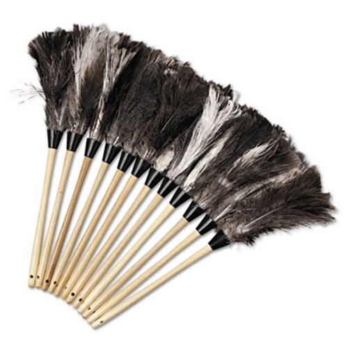 Boardwalk Professional Ostrich Feather Duster  13  Handle (UNS 23FD)