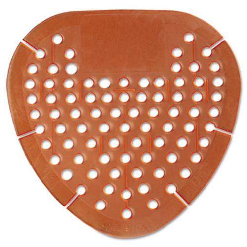 Boardwalk Gem Urinal Screen, Lasts 30 Days, Orange, Mango Fragrance, 12/Box (KRY EGEM72 MAN)