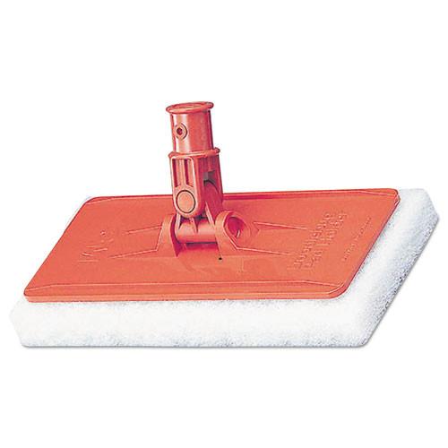 3M Doodlebug Threaded Pad Holder Kit  For 4 5 8 x 10 Pads  Orange  4 Carton (MCO 08542)