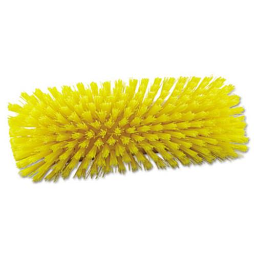 Boardwalk Dual-Surface Scrub Brush  Plastic Fill  10  Long  Yellow (BWK 3410)