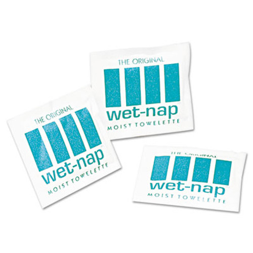 Sani Professional Wet-Nap Premoistened Towelettes  5 x 7 3 4  White  100 Pack  10 Packs Carton (NIC D11055)