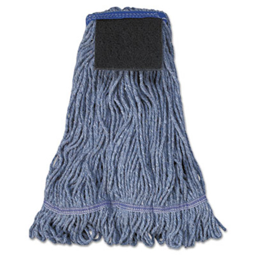 Boardwalk Mop Head  Loop-End  Cotton With Scrub Pad  Large  12 Carton (UNS 903BL)