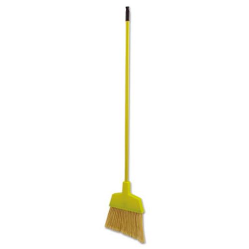 Boardwalk Poly Bristle Angler Broom  53  Handle  Yellow  12 Carton (UNS 932M)