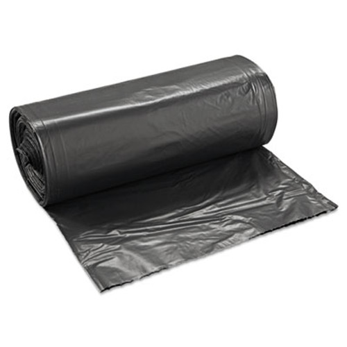 Boardwalk SH-Grade Can Liners, 40 x 46, 40-45gal, 1.2mil, Black, 10 Bags/Roll, 10 Rolls/CT (BWK 517)