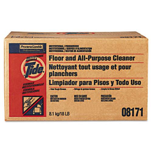 Tide Professional Floor and All-Purpose Cleaner, 18lb Box (PGC 02363)